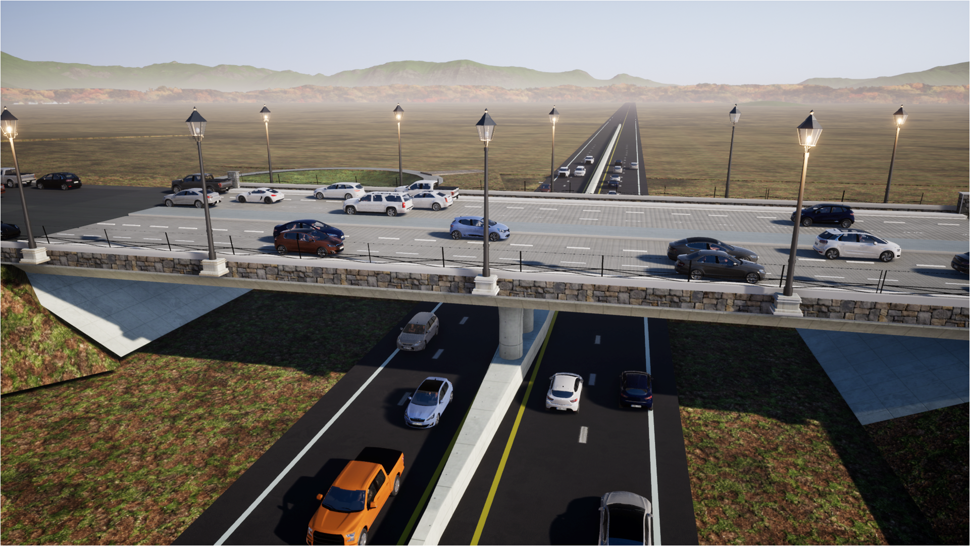 Potrero Interchange Rendering